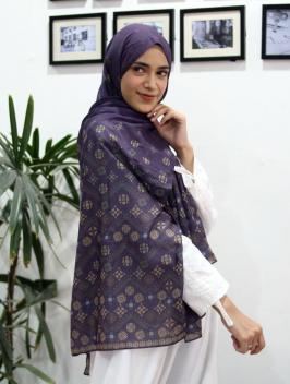 Abina Pashmina Purple