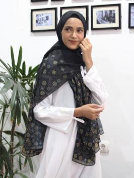 Abina Pashmina Black