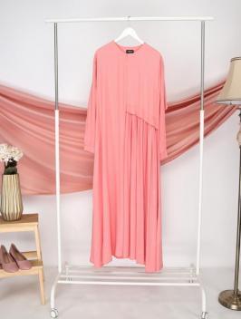Ainun Dress Peach