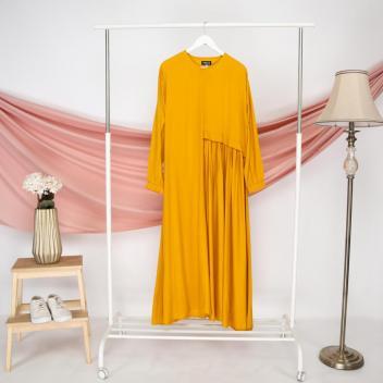 Ainun Dress Mustard