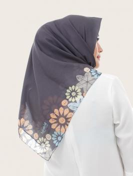Blossoms Dark Grey