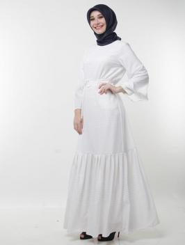 Varisha white dress