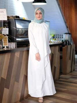 Arafah Dress Broken White