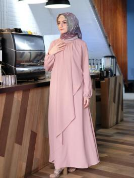 Arafah Dress Dusty Pink